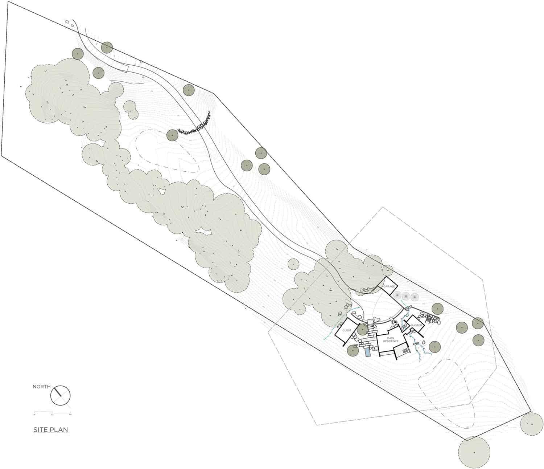 contemporary-home-site-plan