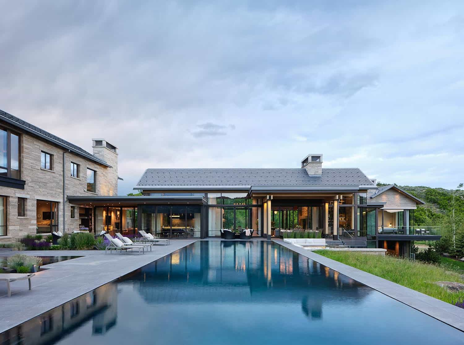 Insanely stunning Utah mountain home promotes indoor-outdoor lifestyle