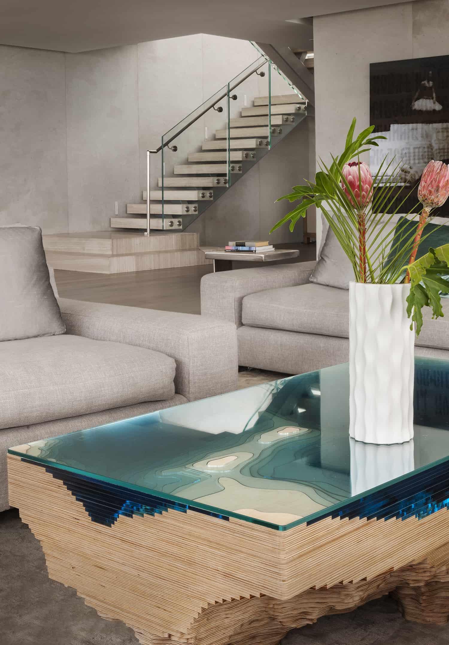 suvremeni penthouse-dnevna soba