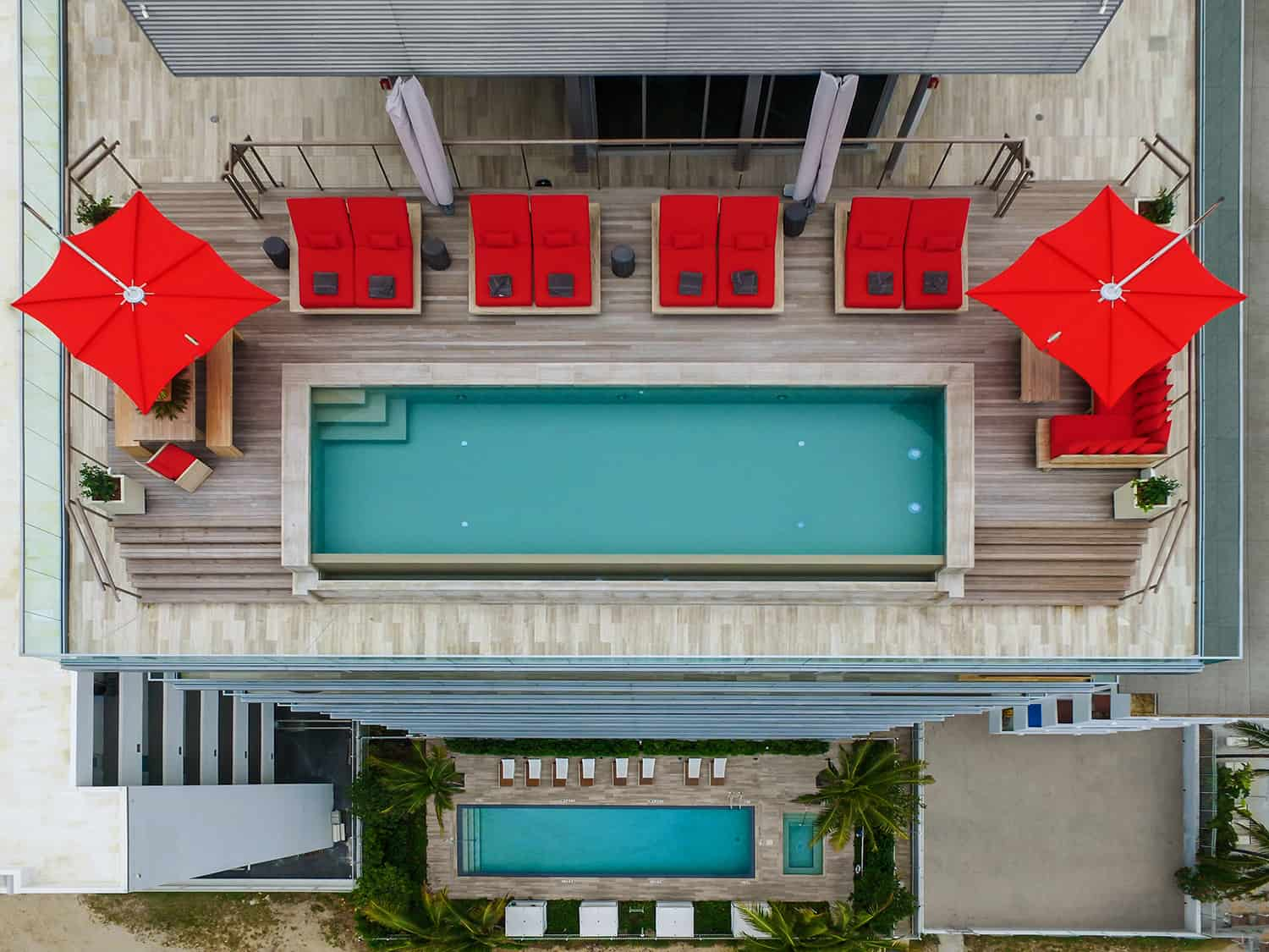 contemporary-penthouse-pool-aerial-view