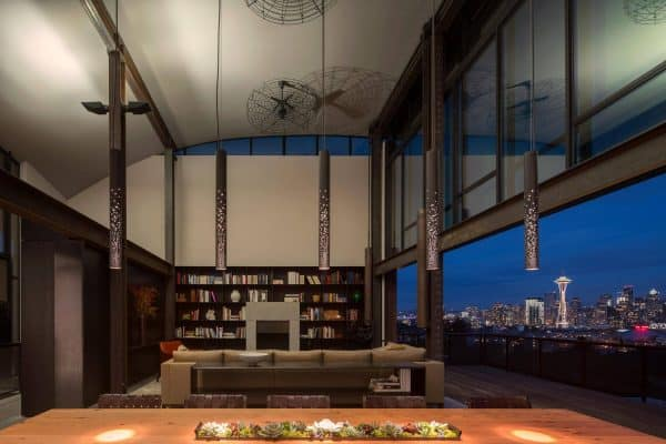 featured posts image for Contemporary urban refuge has the most amazing Seattle skyline views