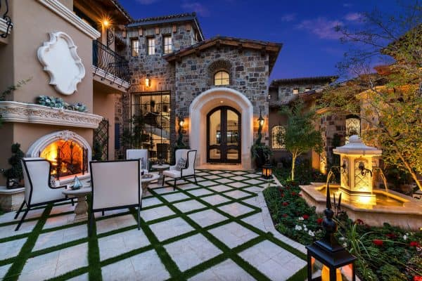 featured posts image for Step inside this stunningly beautiful French villa home in Arizona
