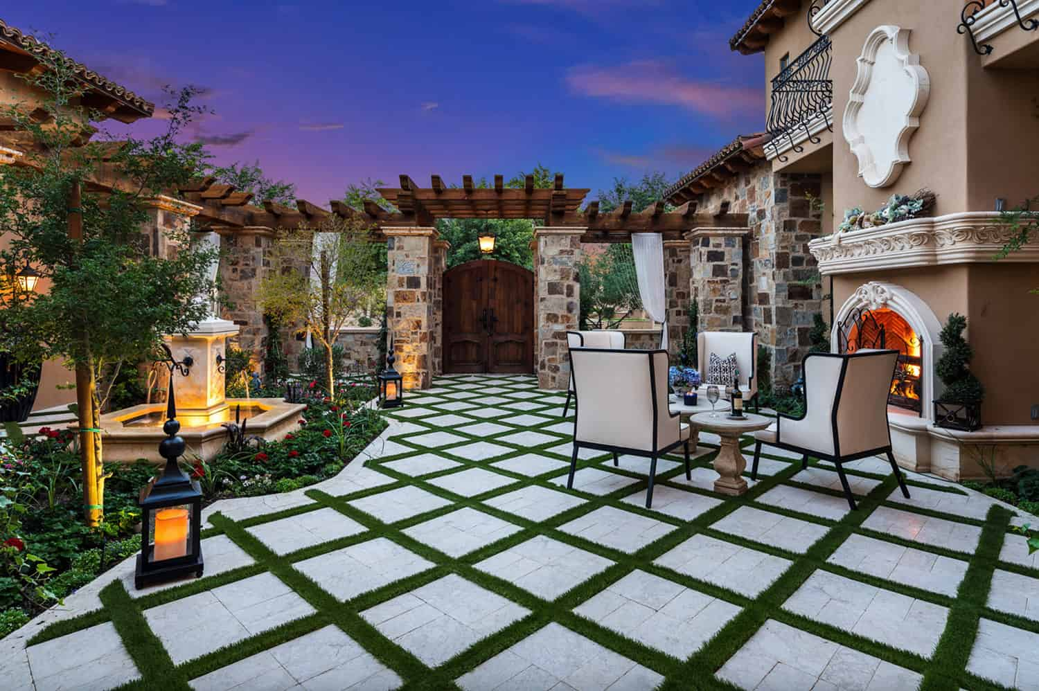 french-villa-front-courtyard