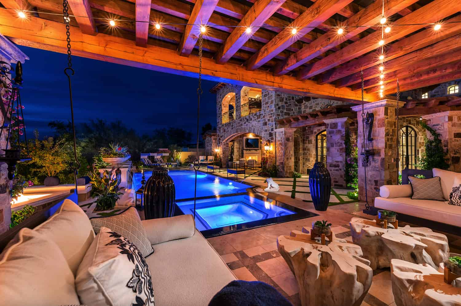 french-villa-pool-and-lounge-seating