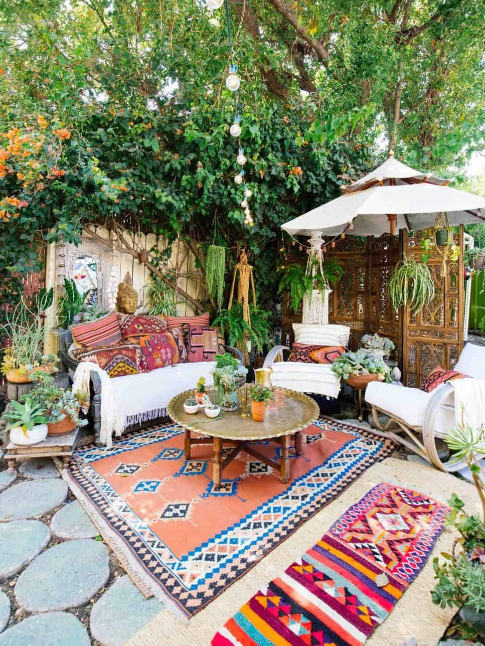 15 Gorgeous Bohemian Patio Ideas For An Outdoor Sanctuary