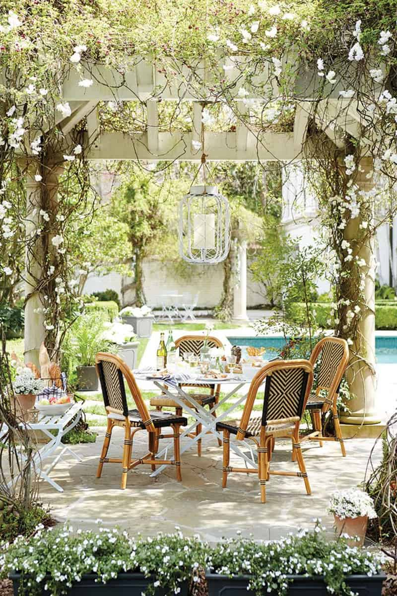 outdoor-dining-with-vine-covered-pergola-overlooking-pool
