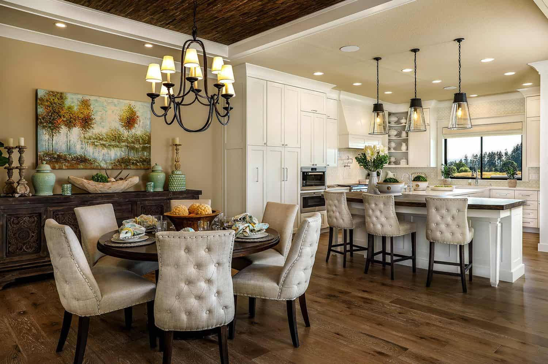 luxurious-farmhouse-dining-room