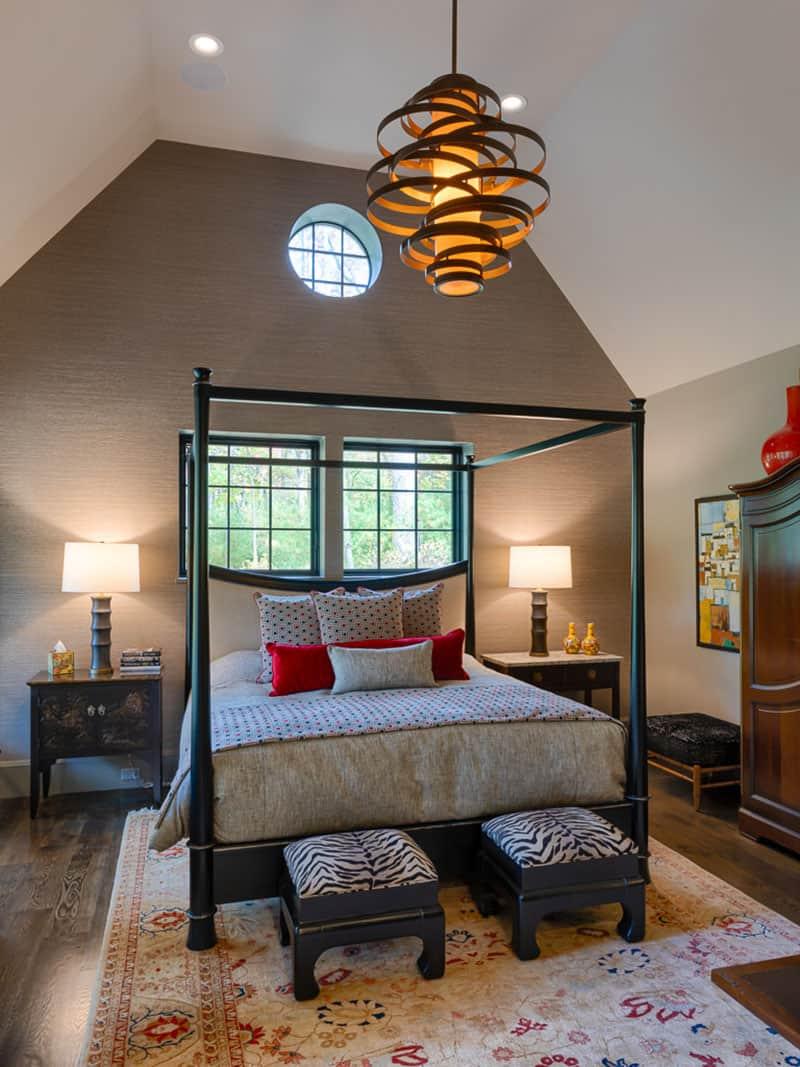 Francusko-suvremena spavaća soba