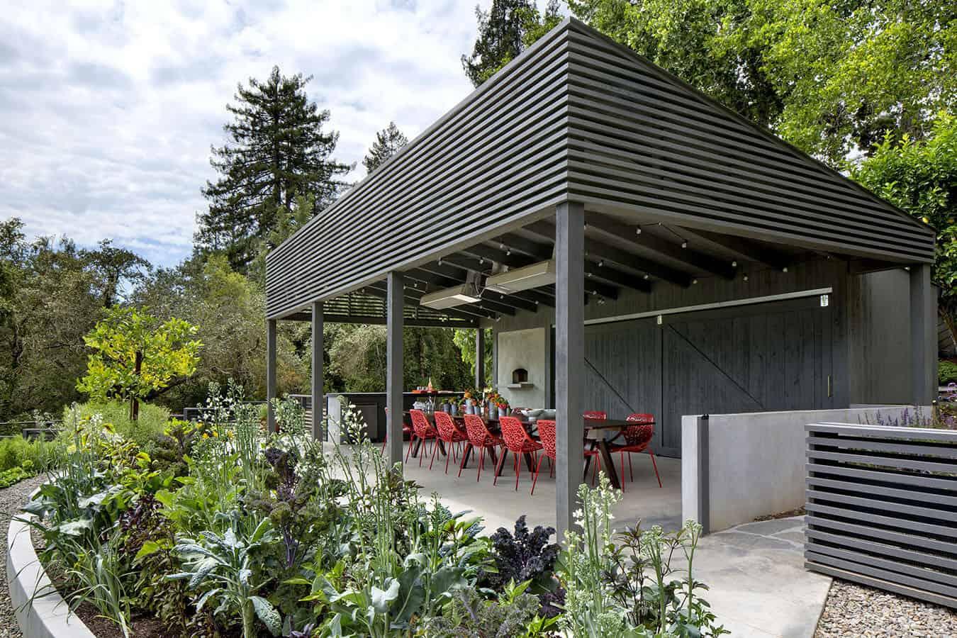 midcentury-outdoor-kitchen-pavilion