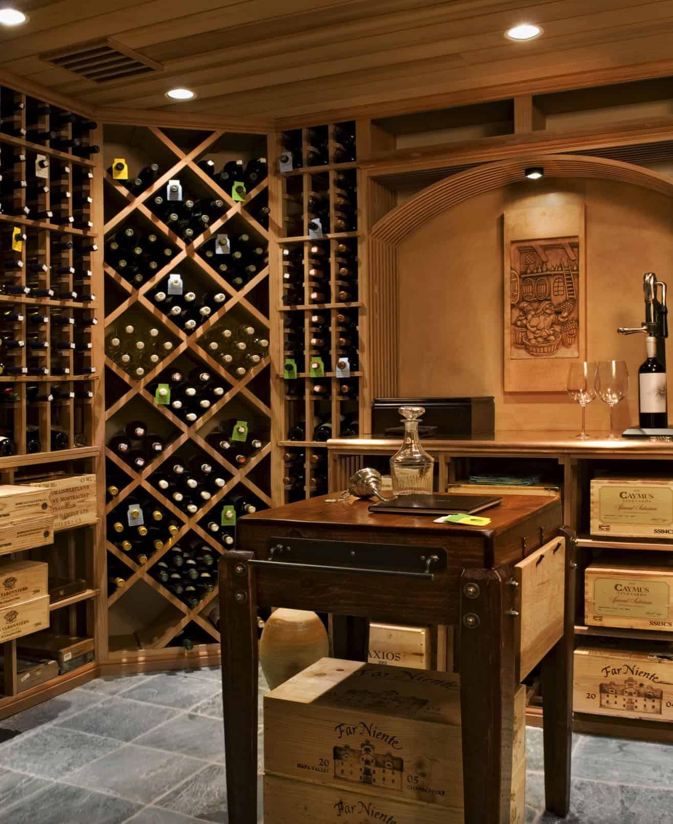 modern-farmhouse-wine-cellar