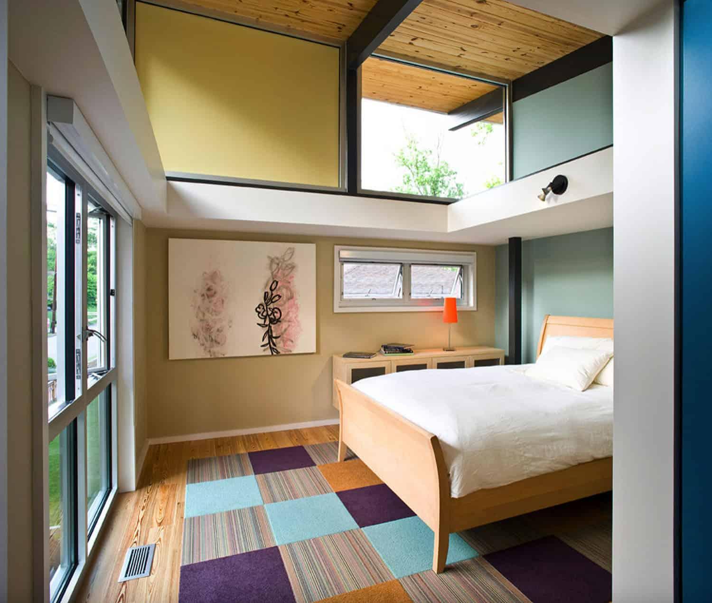 modernističko-spavaća soba