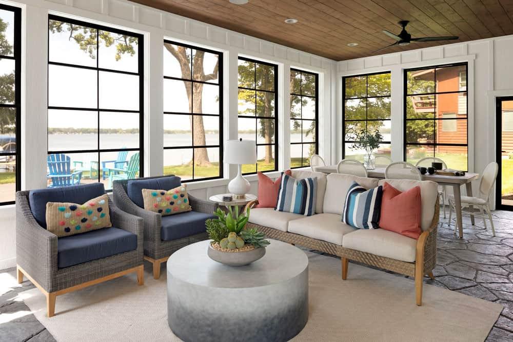 suvremena zaslon-trijem-dnevna soba