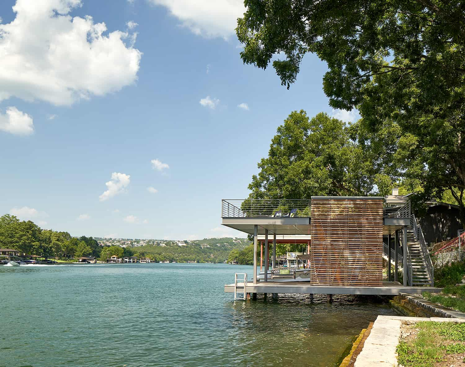 contemporary-boat-house
