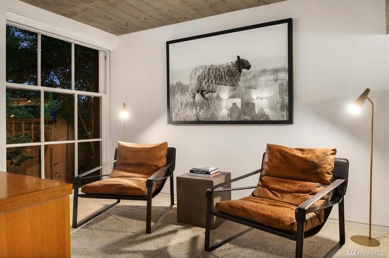 moderna spavaća soba-prostor za sjedenje