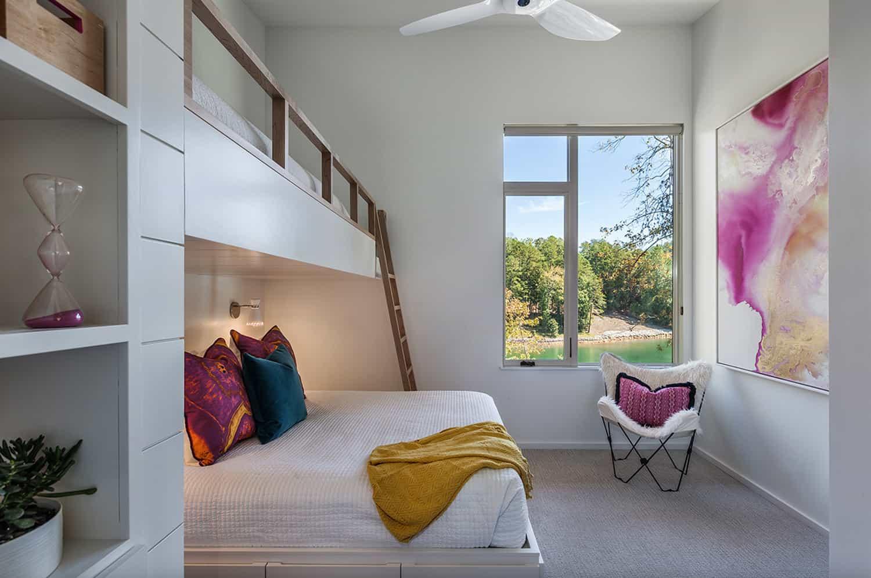 midcentury-modern-bunk-bedroom