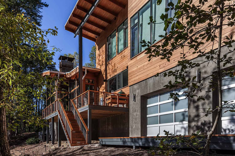 midcentury-modern-lake-house-exterior