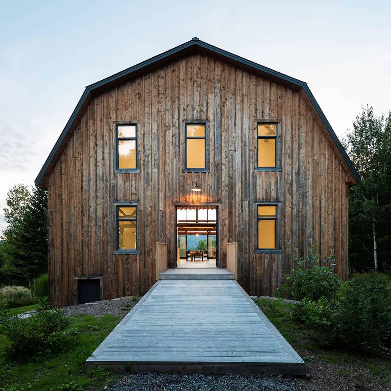 moderna-rustikalna-staja-kuća-eksterijer