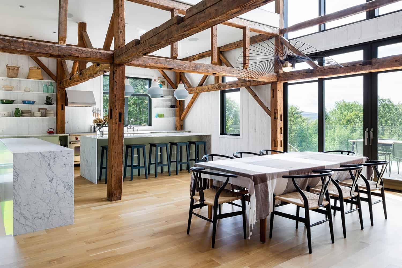 moderna-rustikalna-staja-kuća-kuhinja