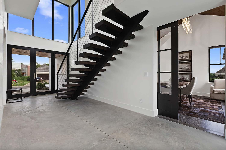modern-farmhouse-staircase-entry
