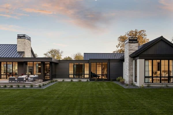 featured posts image for Organic elements bring warmth to this prairie-style home in North Dakota