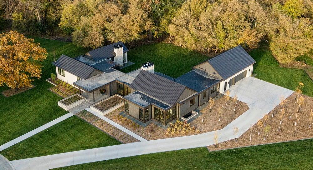 modern-prairie-style-home-aerial-view