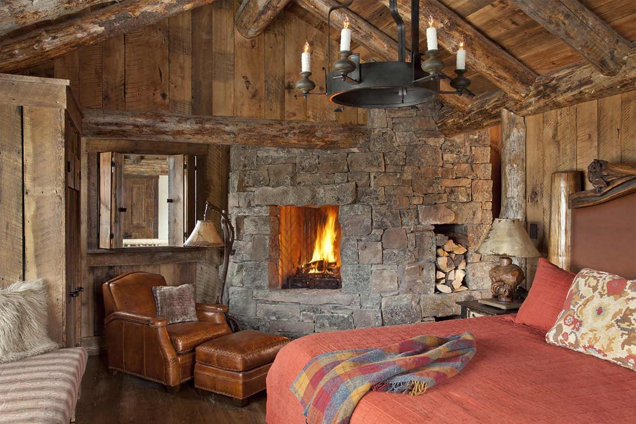 rustikalna spavaća soba-s-kaminom