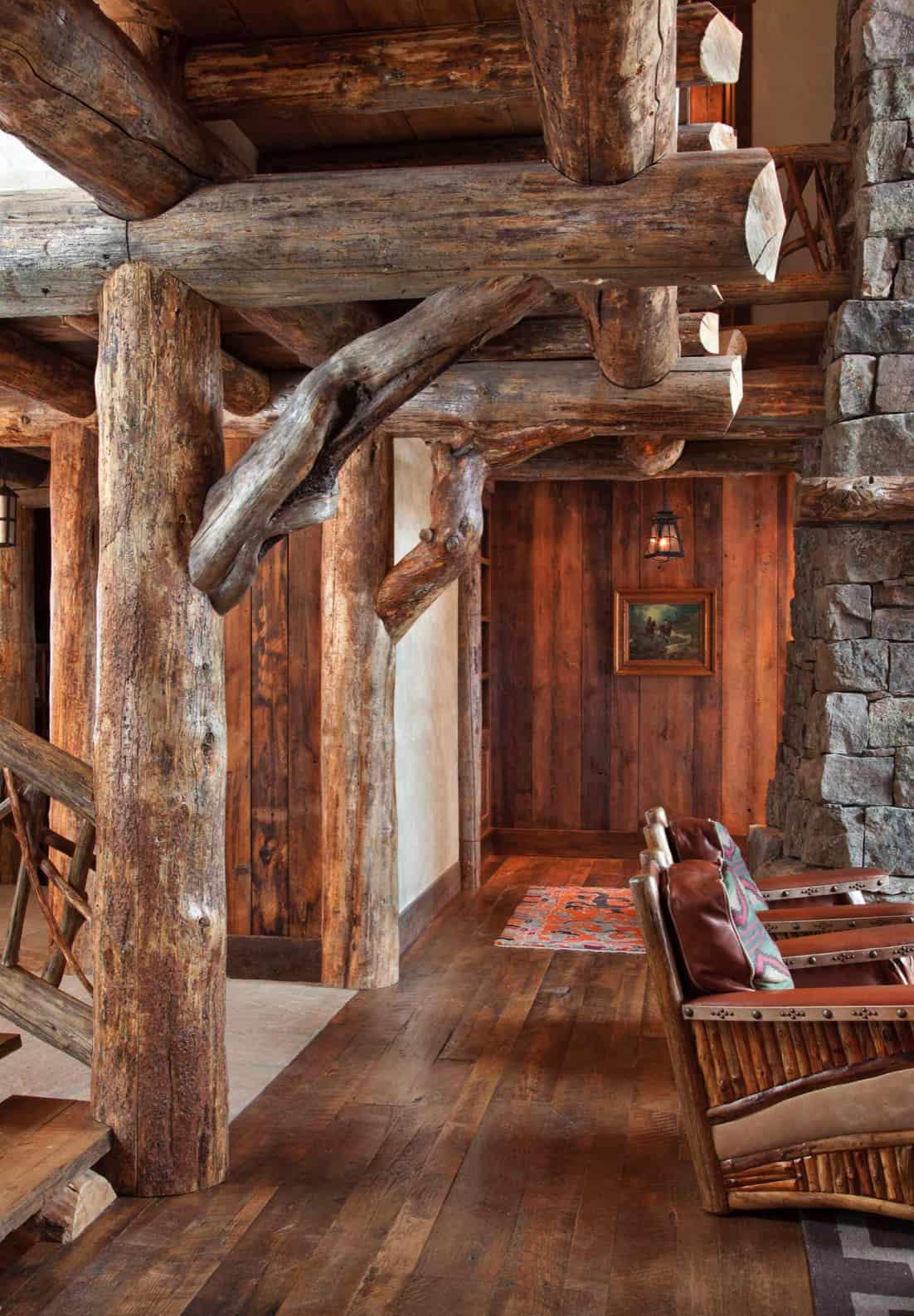 rustikalno-dnevna soba-dvorana