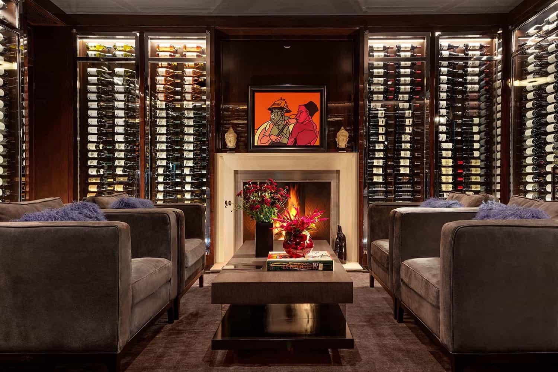 contemporary-wine-room
