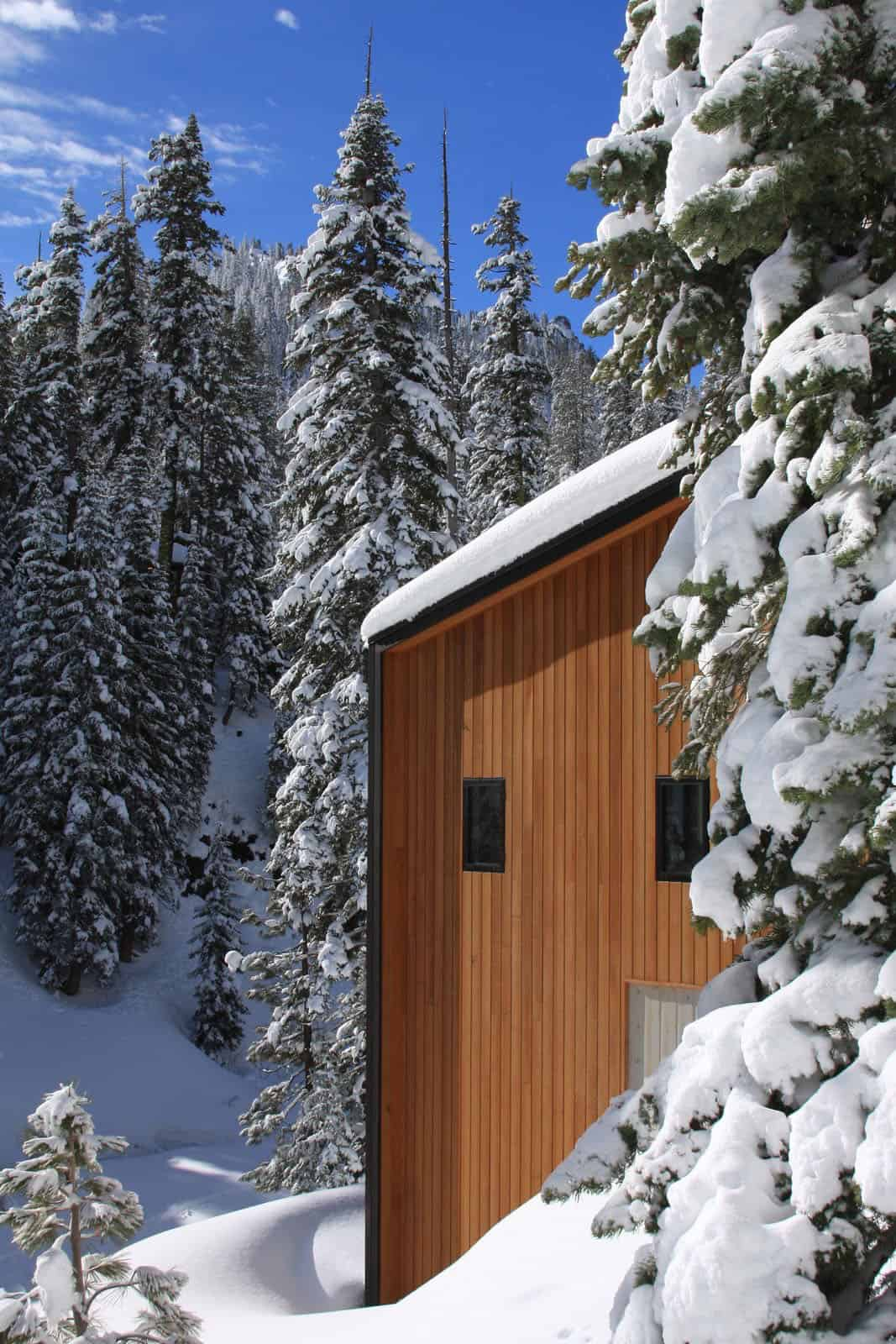 ski-cabin-exterior-with-snow