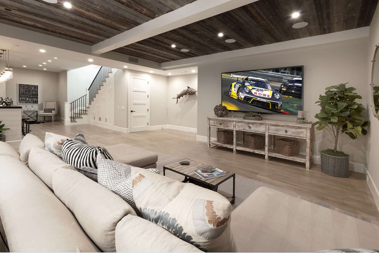 beach-style-basement-media-room
