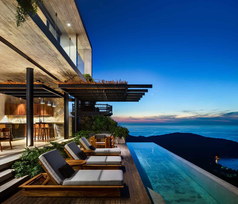 tropical-minimalist-swimming-pool-night-view