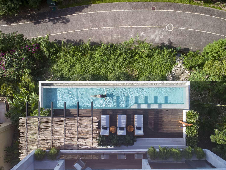 tropical-minimalist-swimming-pool-aerial-view