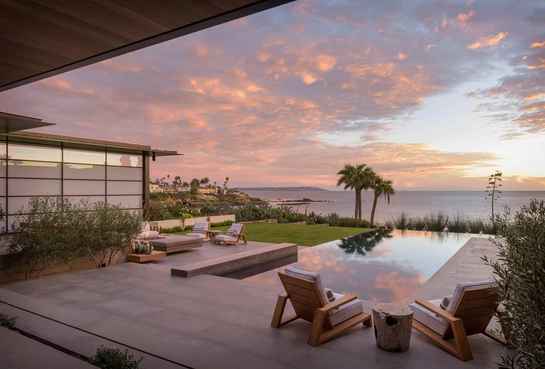 suvremeni-obalni-dom-eksterijer-zalazak sunca