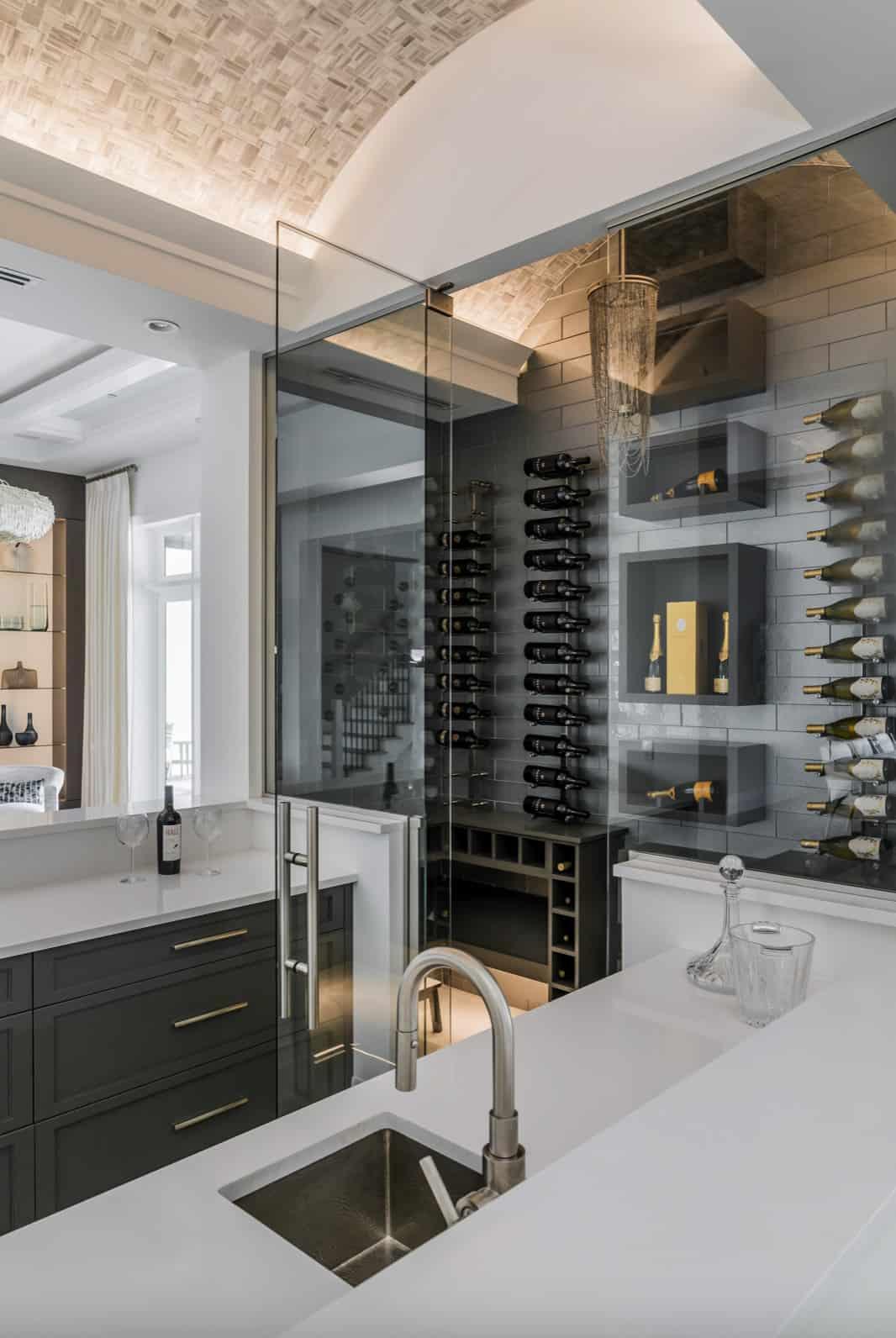 coastal-style-home-bar-and-wine-cellar