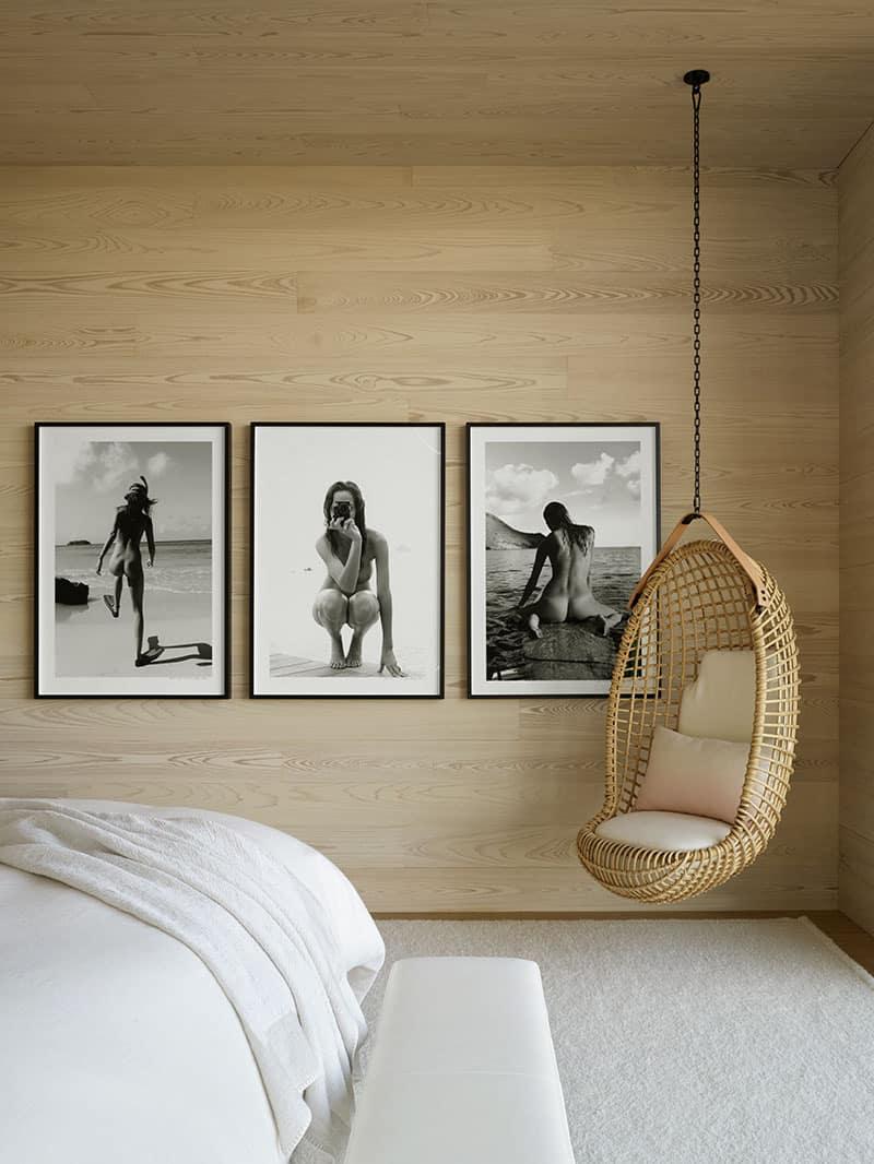 suvremena-dječja-spavaća soba-s visećim ljuljačkama