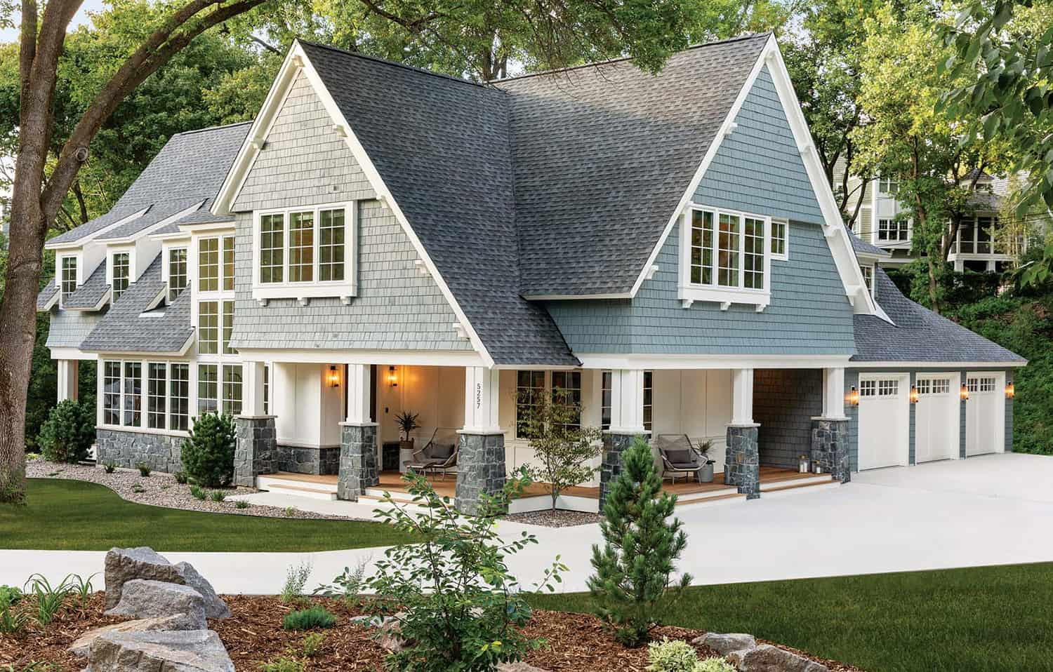 Cottage style dream home inspired by the beauty of nature in Minnesota