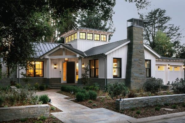 featured posts image for Tour this inviting ranch style farmhouse for empty nesters in California