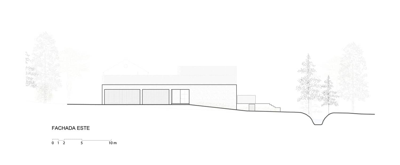 plan kuće u stilu haciende