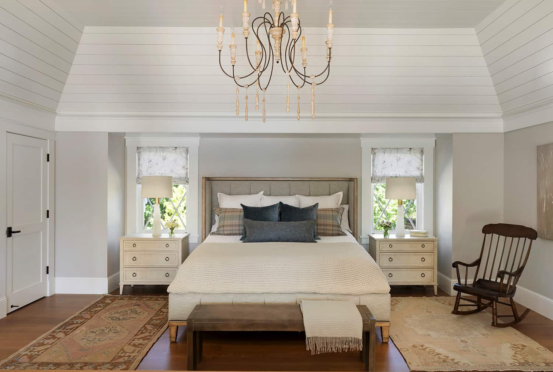spavaća soba u stilu plaže