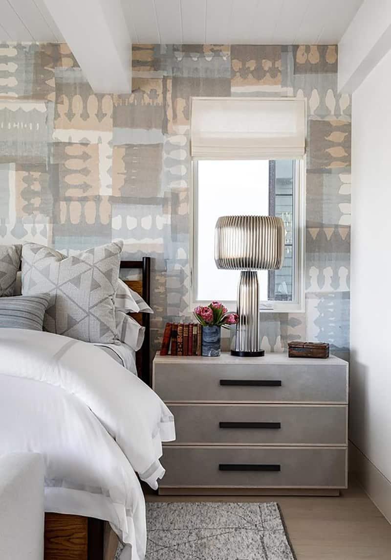 moderno opremljena spavaća soba