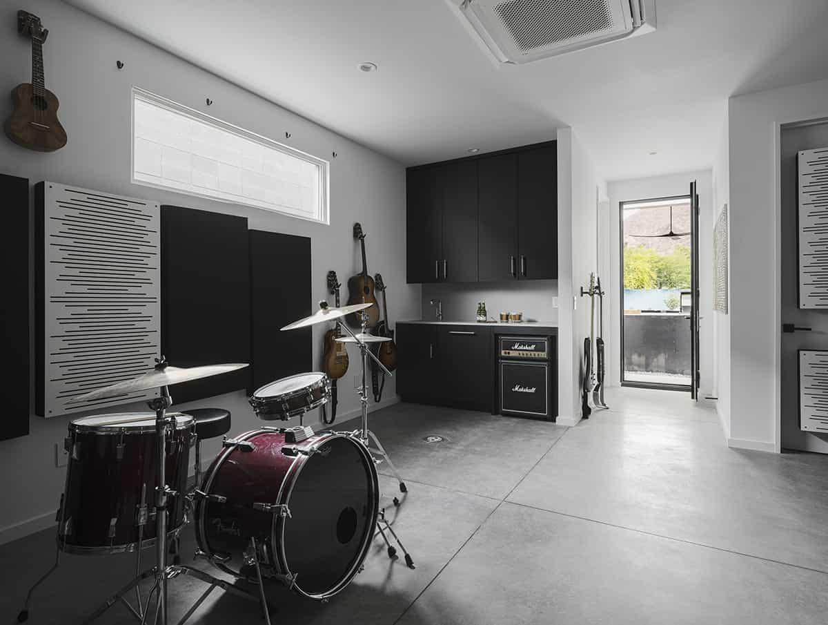 moderno-glazbena soba