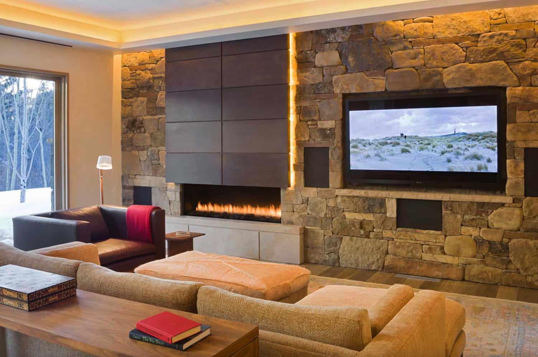 moderno-rustikalna-dnevna soba