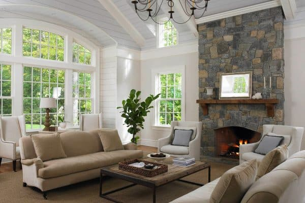featured posts image for A 1930s white brick house gets a stunning makeover in rural Connecticut