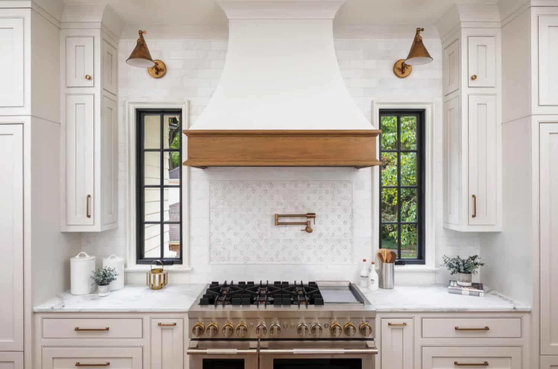 transitional-kitchen-range
