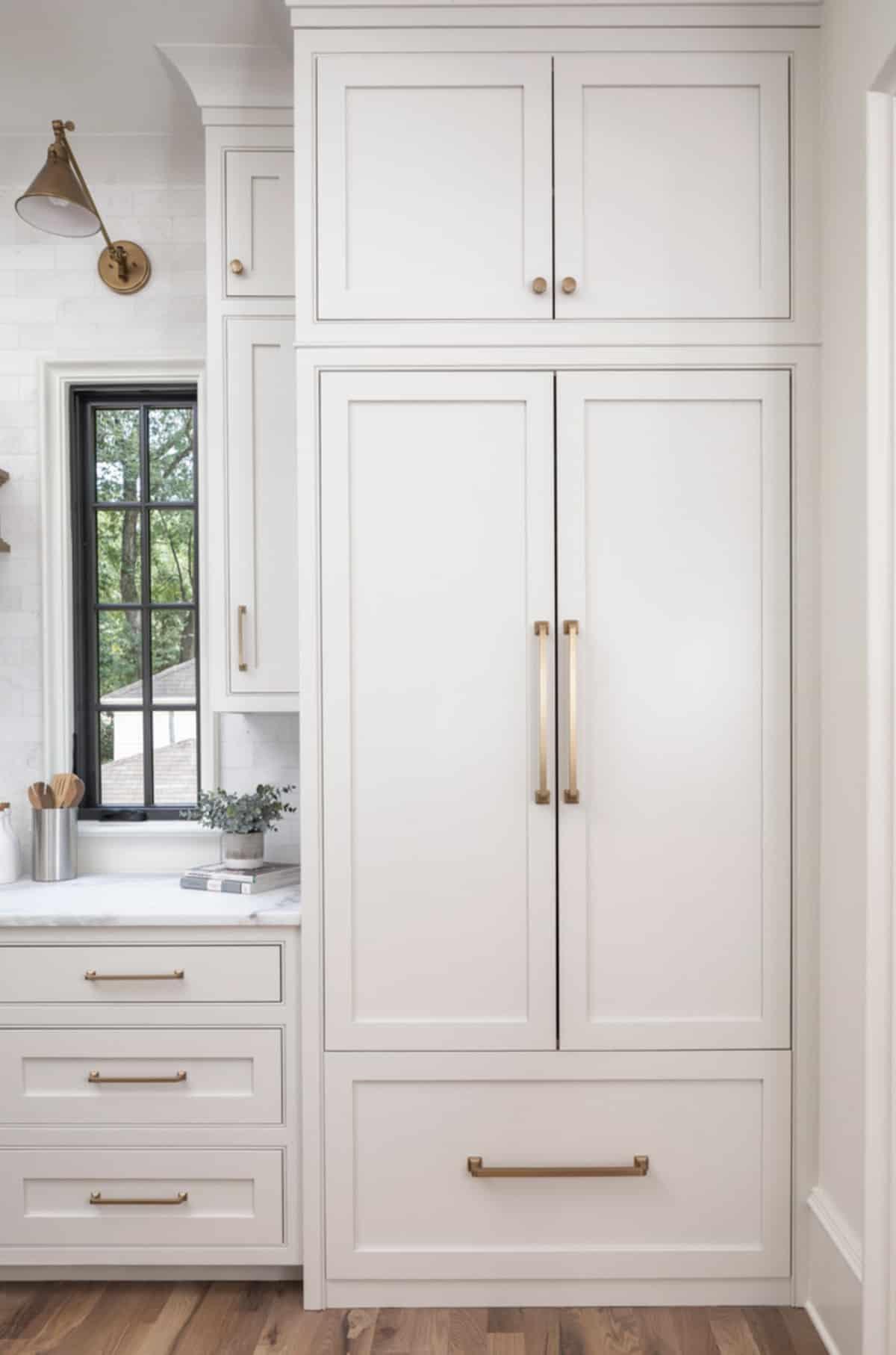 transitional-kitchen-fridge-wall-panel