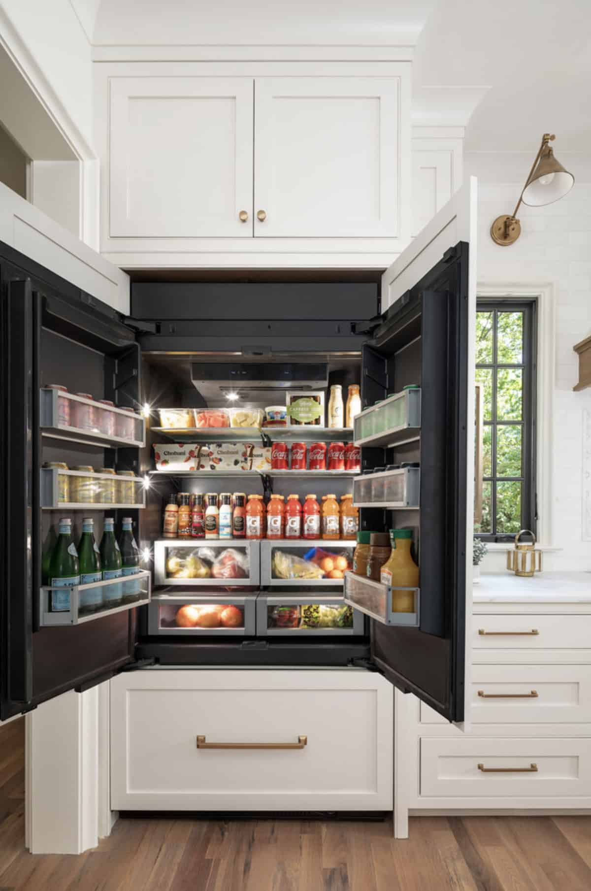 transitional-kitchen-jennair-fridge