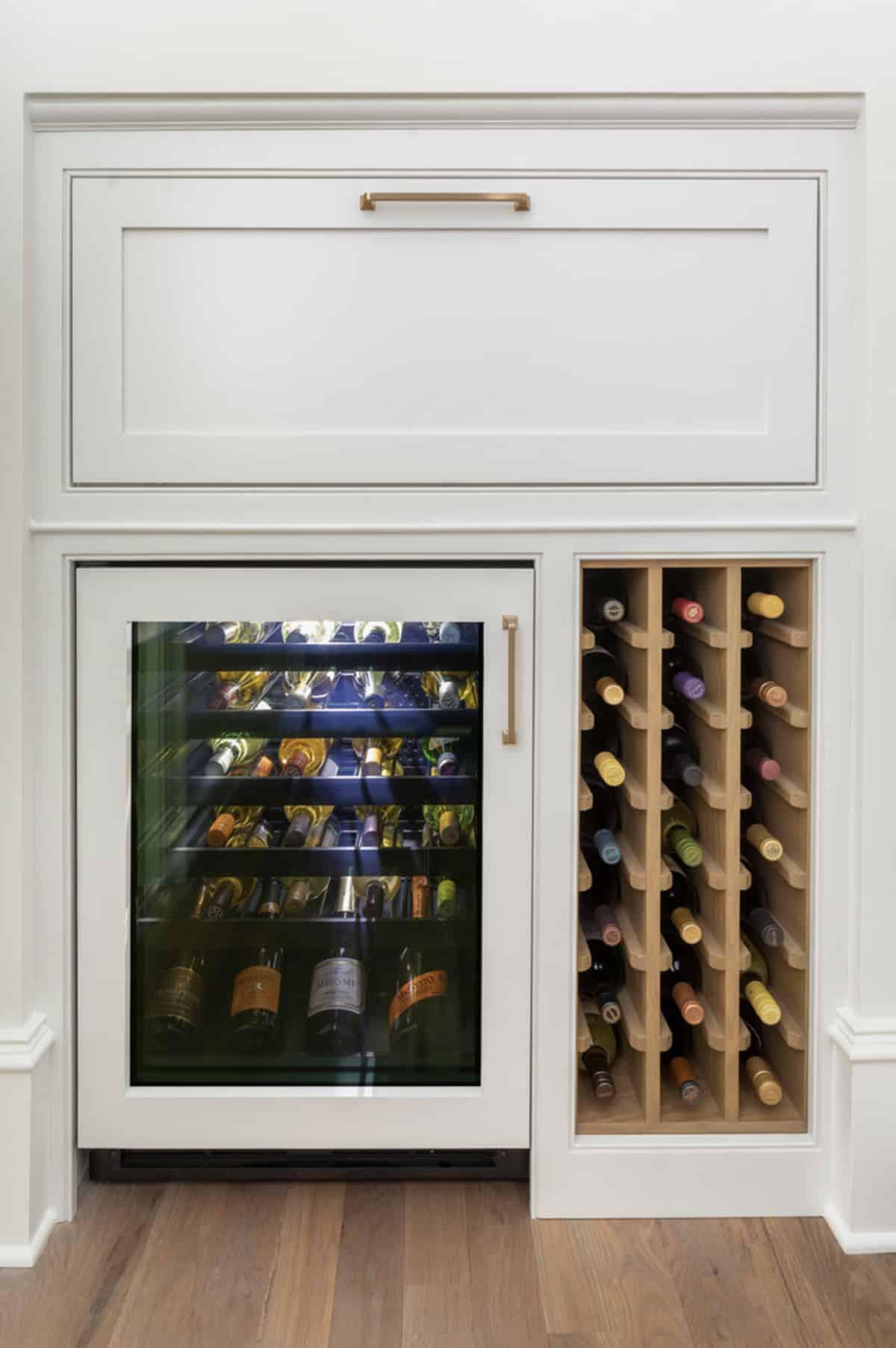 transitional-kitchen-wine-chiller