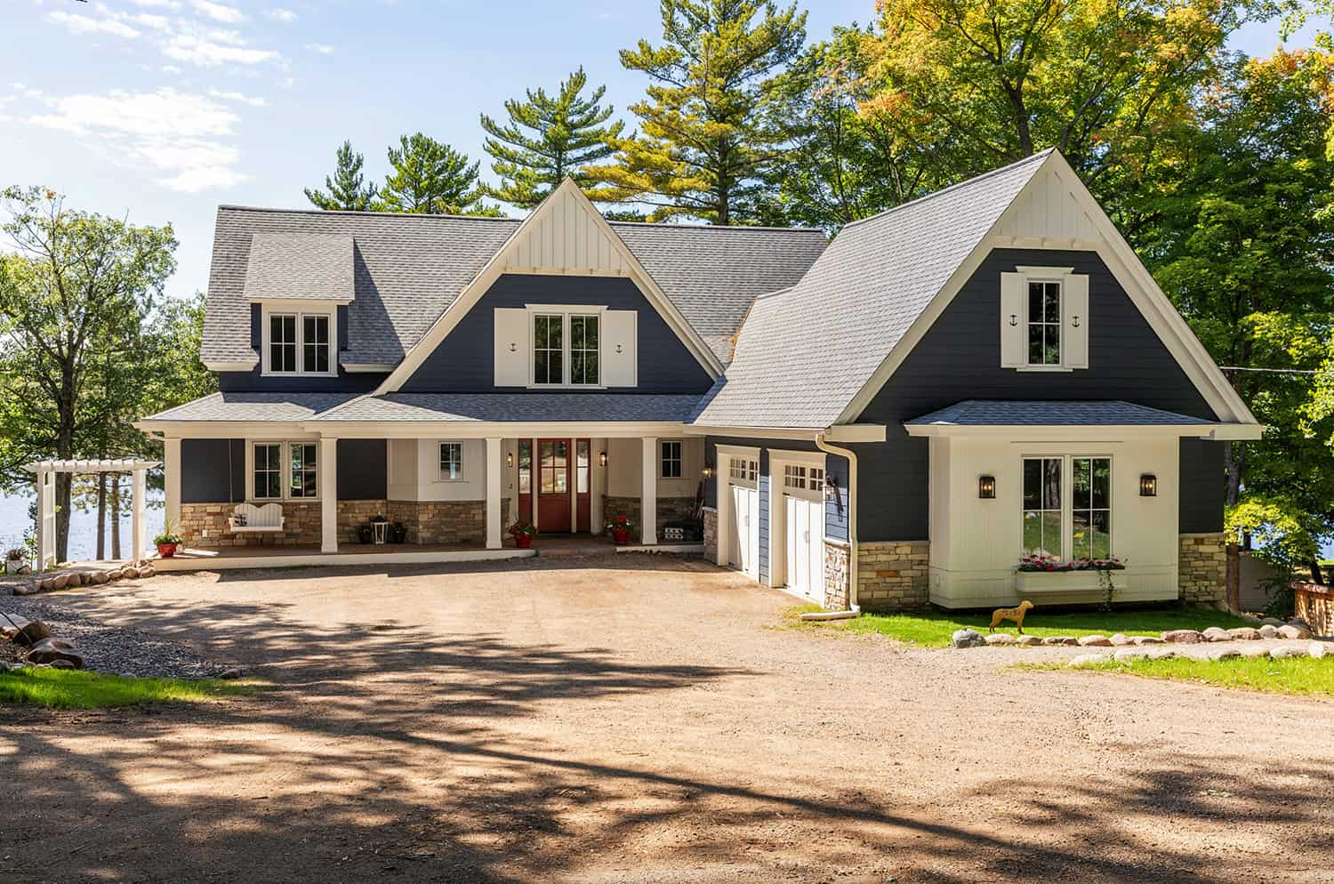 Tour a charming Northern Minnesota lake house made for empty nesters