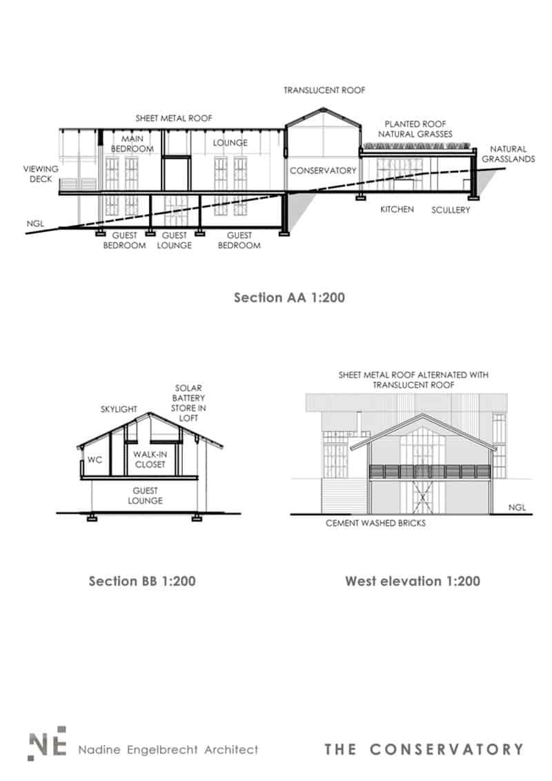 suvremena-seoska kuća-plan dijela