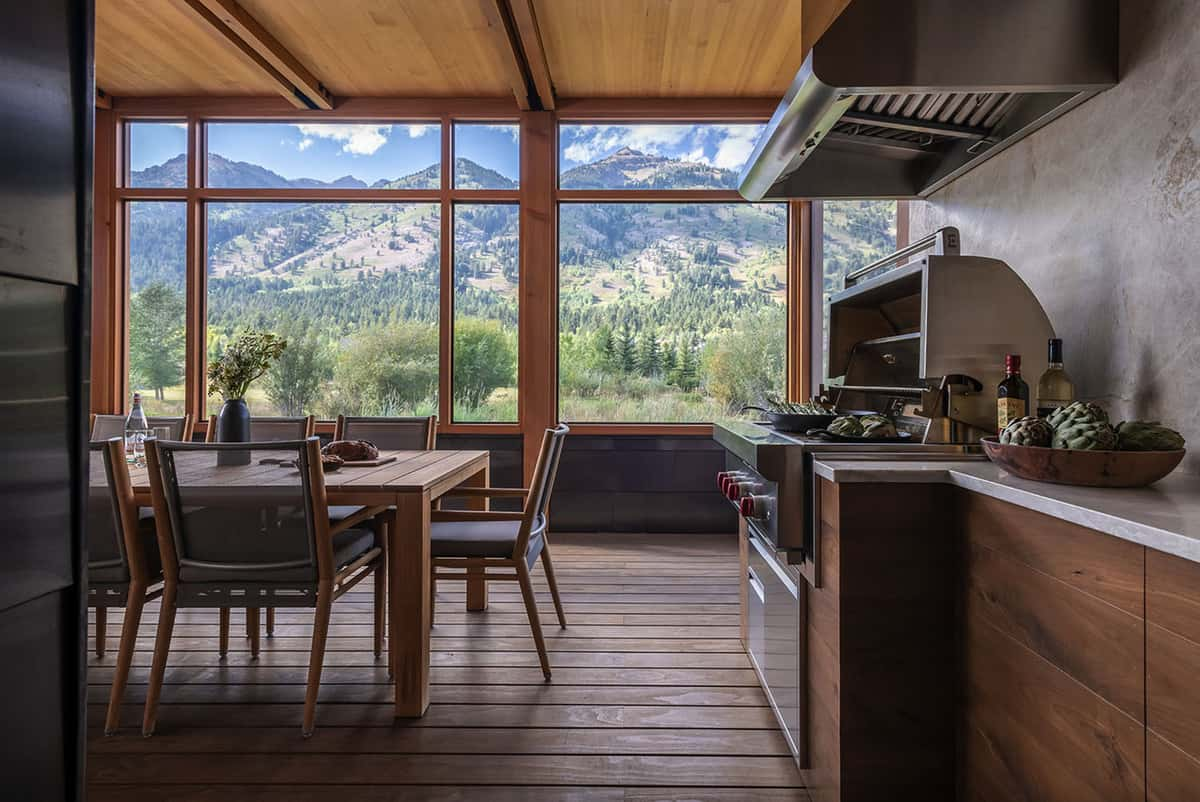 mountain-modern-screened-porch-with-outdoor-kitchen